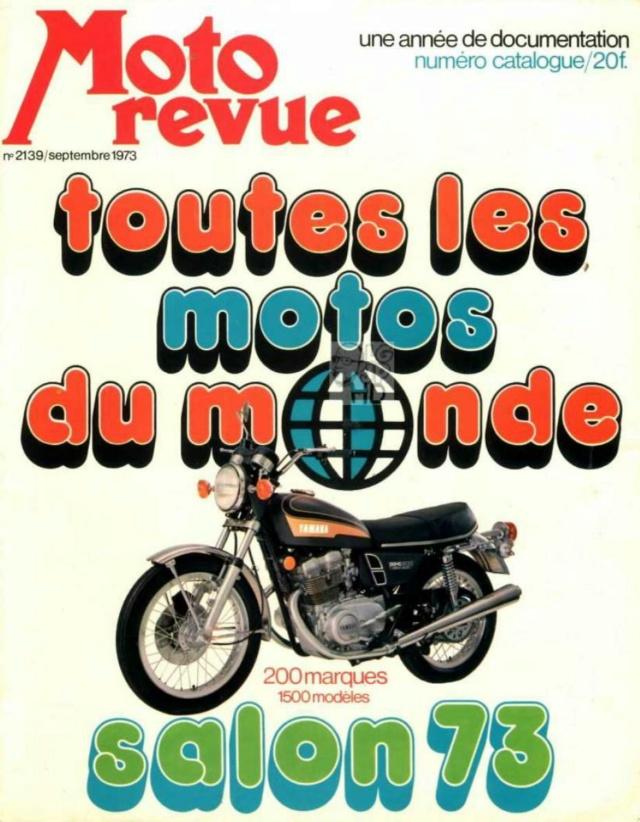 Catalogue salon 1973  Moto Revue A000612