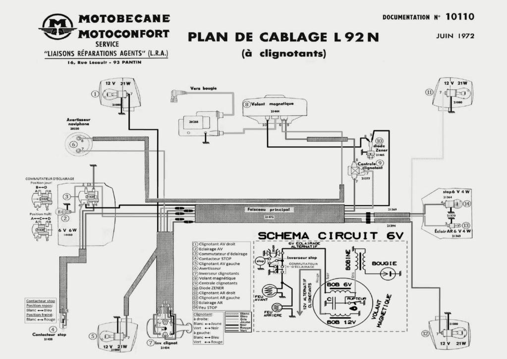 Faisceau électrique av92 A00121