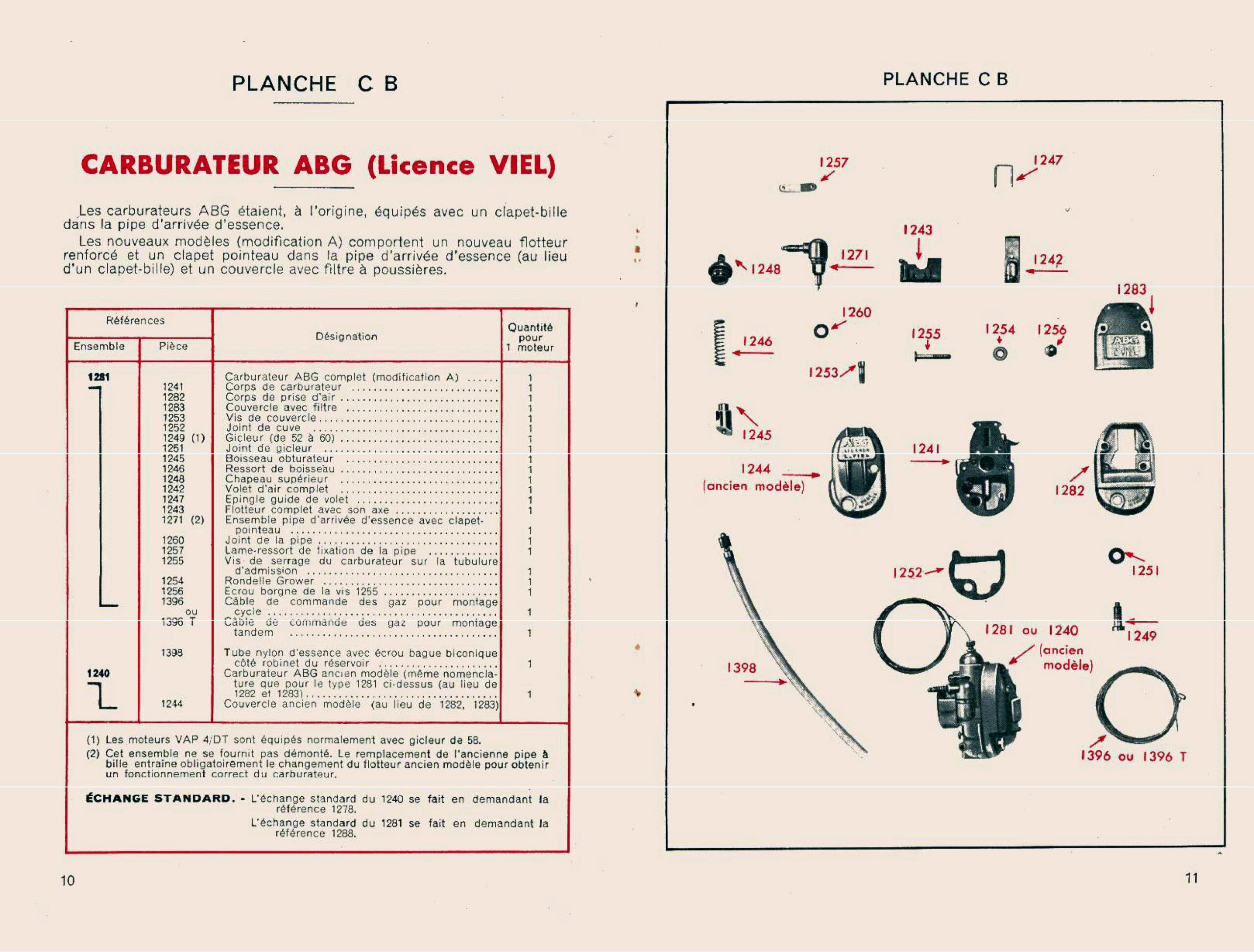 recherche carbu  pour un cyclomoteur Hurthu  A00321