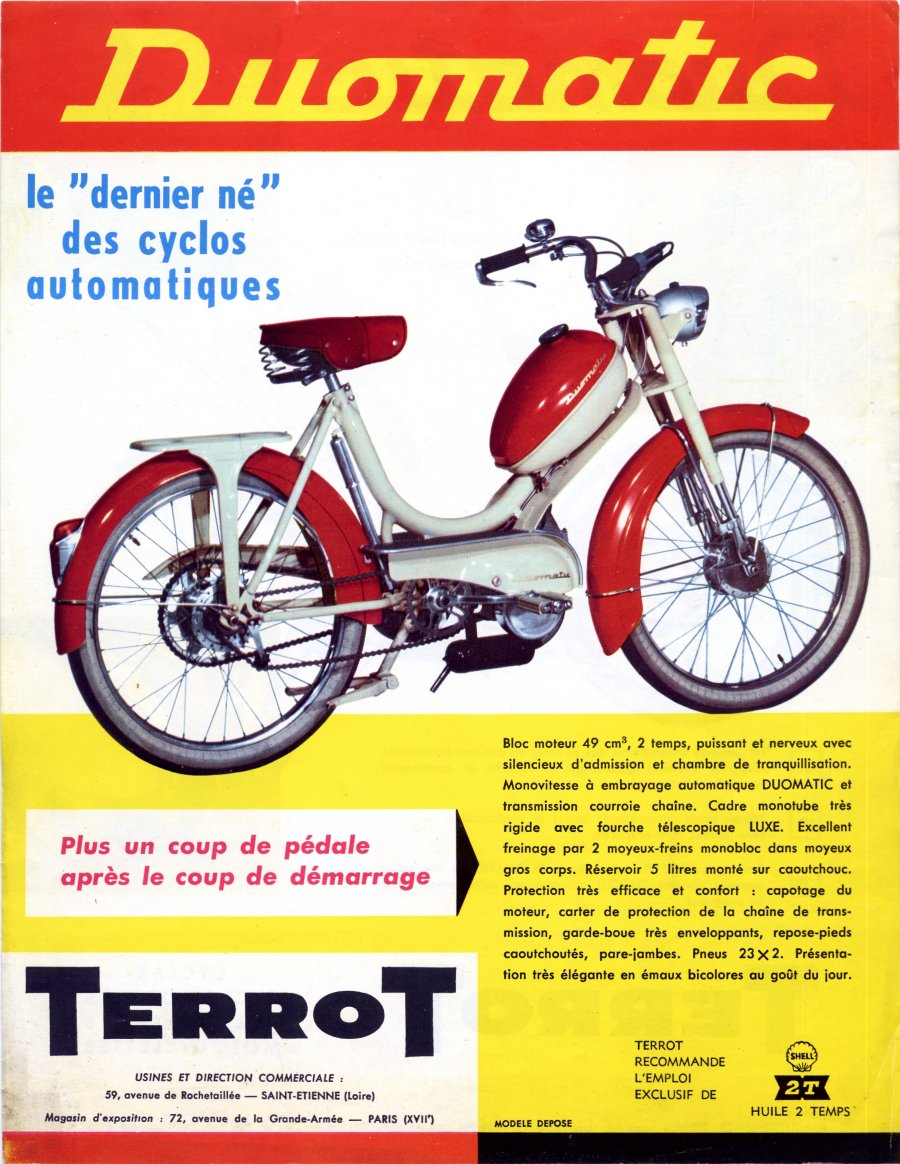 Restauration Terrot Duomatic TL 3 S Automo45