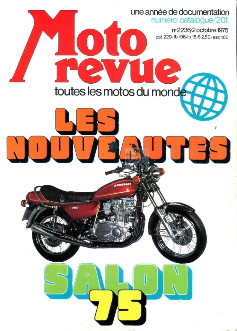 Catalogue salon 1975  Moto Revue Desc6710