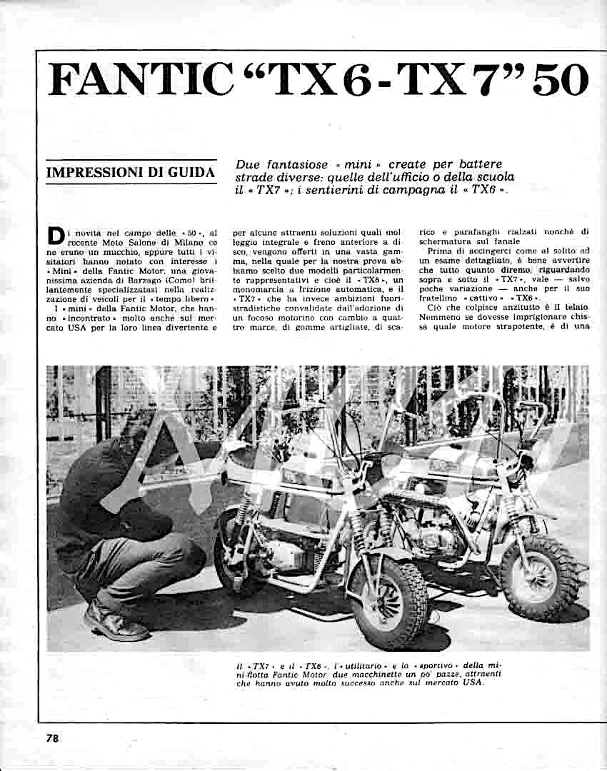 Fantic TX7  Deputy Fantic27