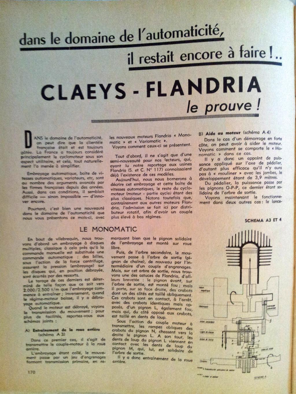 Bruit moteur flandria Fland140