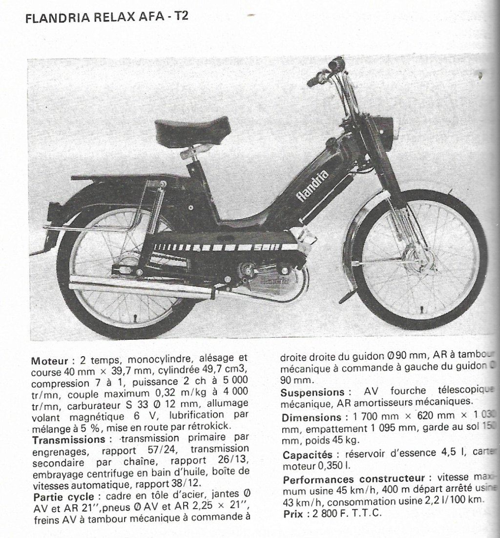 Mobylette flandria inconnu Flandr73