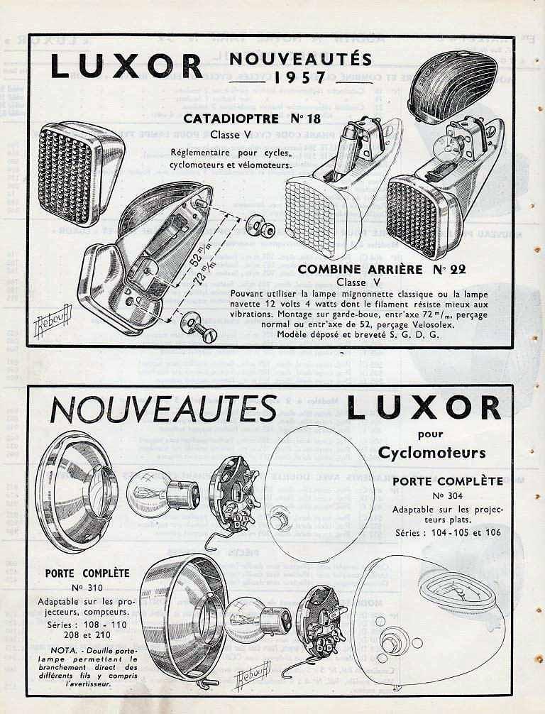 Aide pour connaitre modèle  Luxor_10