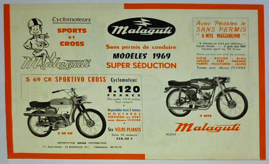 Ma dernière acquisition une Malaguti sportivo cross Malagu31