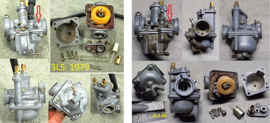 cyclo MBK CT50 3DL moteur yamaha  Mikuni10