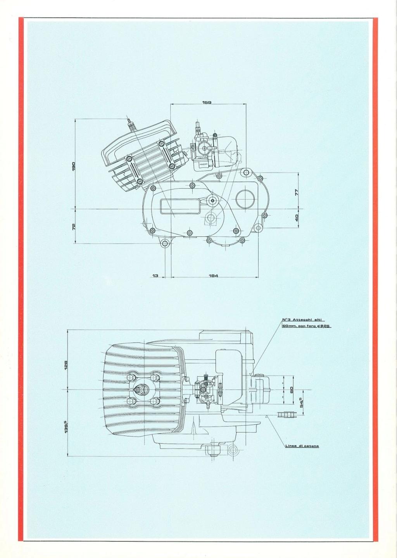 Malaguti Ch 50 de 1984 Moteur28
