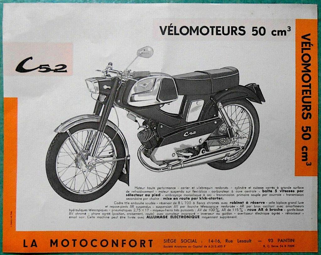 Motoconfort C52 la dernière ! Motob176
