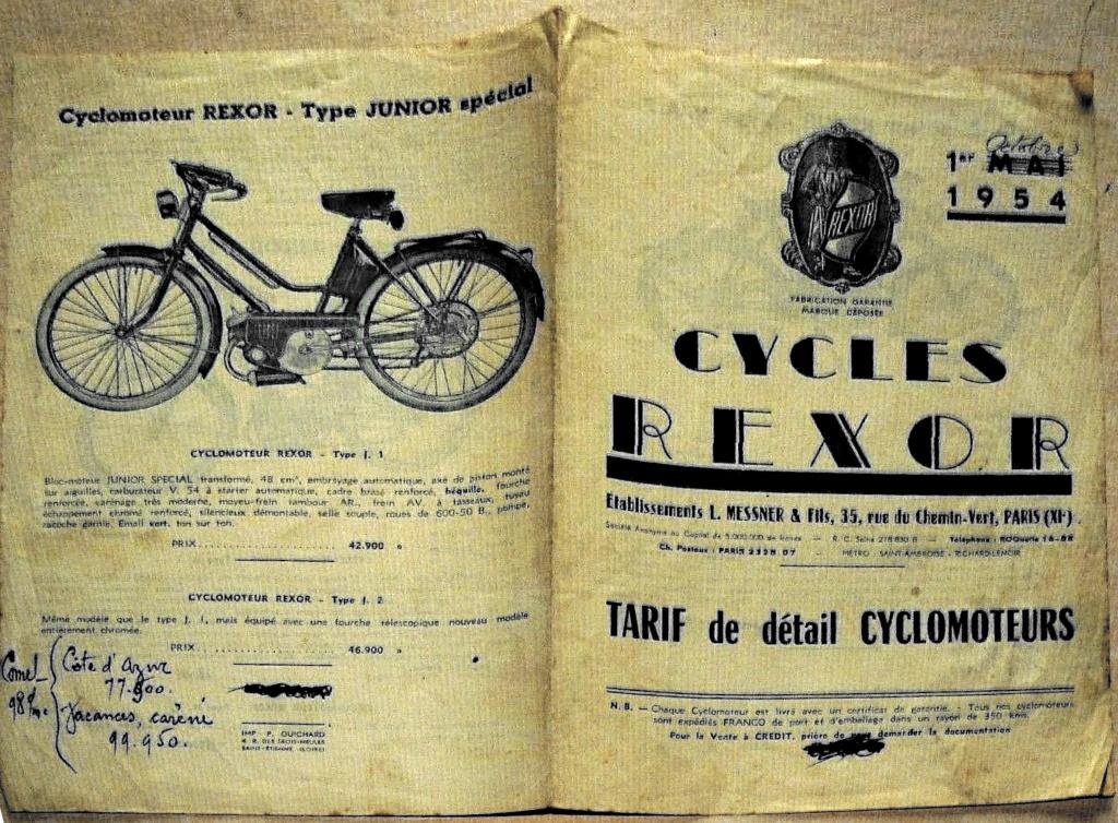 Cyclomoteur REXOR Rexor_11