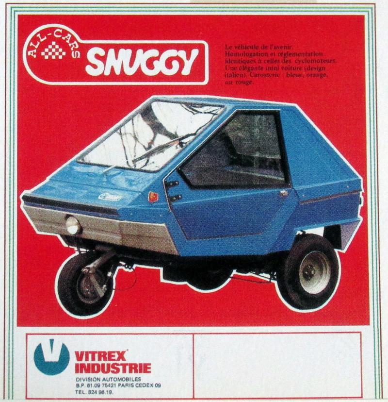 Presentation rénovation d'une voiturette sans permis SNUGGY - CHARLY Snuggy10