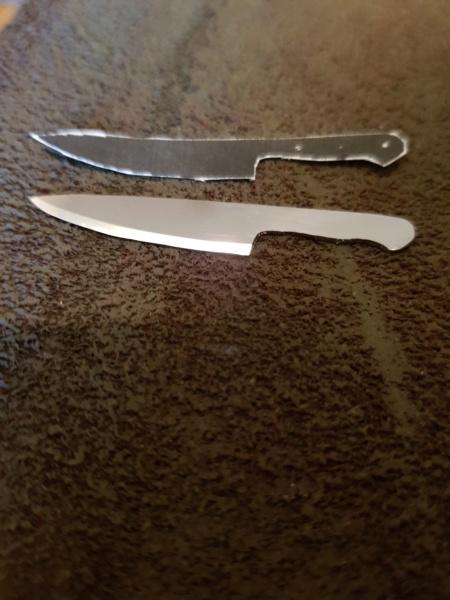perçage d'une lame de cutter Coutea10