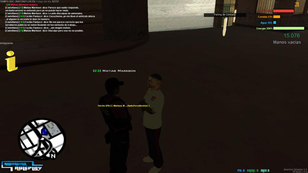[Reporte] Leonel Romero - Abuso de facción, Abuso de comandos de staff - NIP - Troll  y Evasión de rol. G10