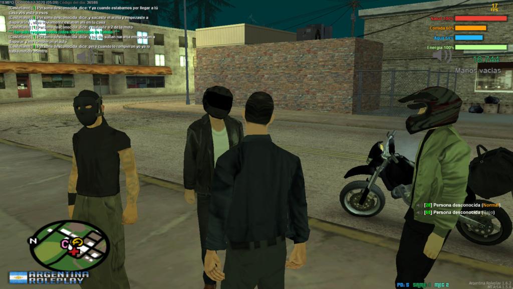 Reporte a Damian Villafane y su bandita - DM - MG - RK  Mta-sc24
