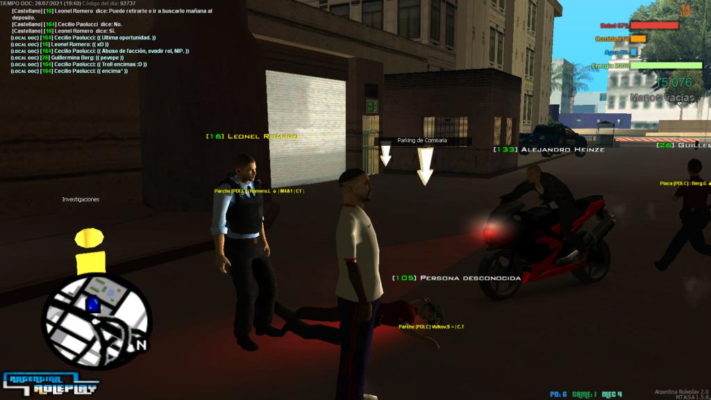 [Reporte] Leonel Romero - Abuso de facción, Abuso de comandos de staff - NIP - Troll  y Evasión de rol. Mta-sc44
