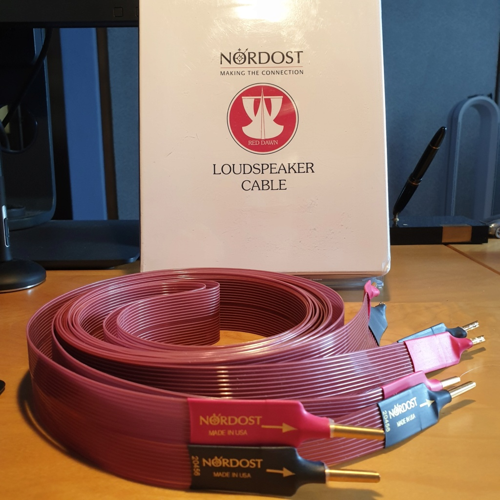 Nordost Red Dawn LS Cables 3m 20200512
