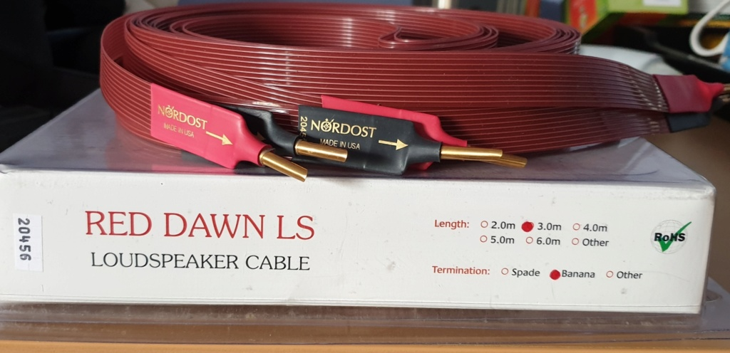 Nordost Red Dawn LS Cables 3m 20200513