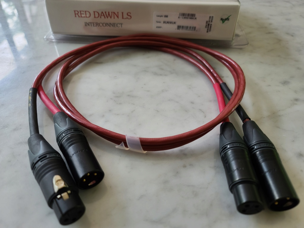 Nordost RED DAWN LS Balanced Analogue Interconnect 1m (pair) 20210221