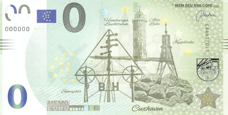 Liste codes Memo Euro scope [100 à 199] 17010