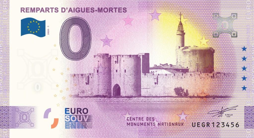 Billets 0 € Souvenirs = 80 Aigues10