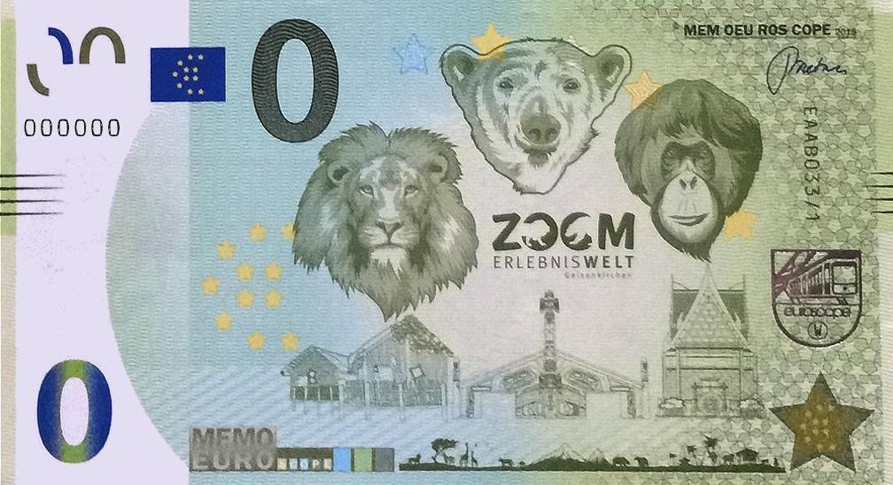 Liste codes Memo Euro scope [001 à 099] B03310