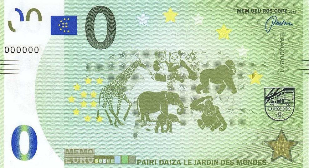 Liste codes Memo Euro scope [001 à 099] C00810