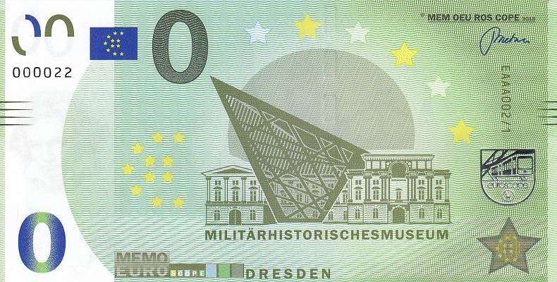 Liste codes Memo Euro scope [001 à 099] Dresde10