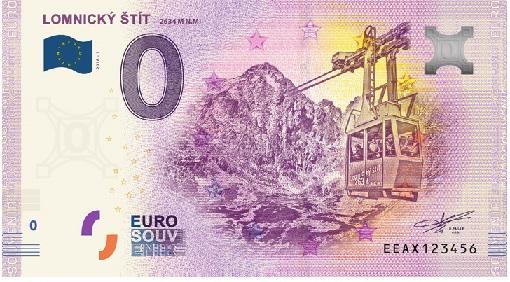 Billets souvenirs 2020 Eeax10