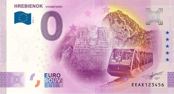 Billets souvenirs 2020 Eeax210