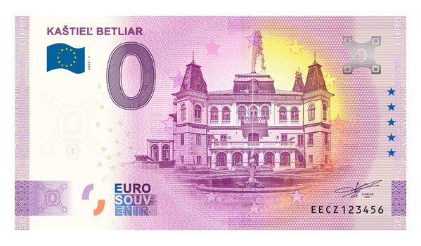 Billets souvenirs 2020 Eecz110