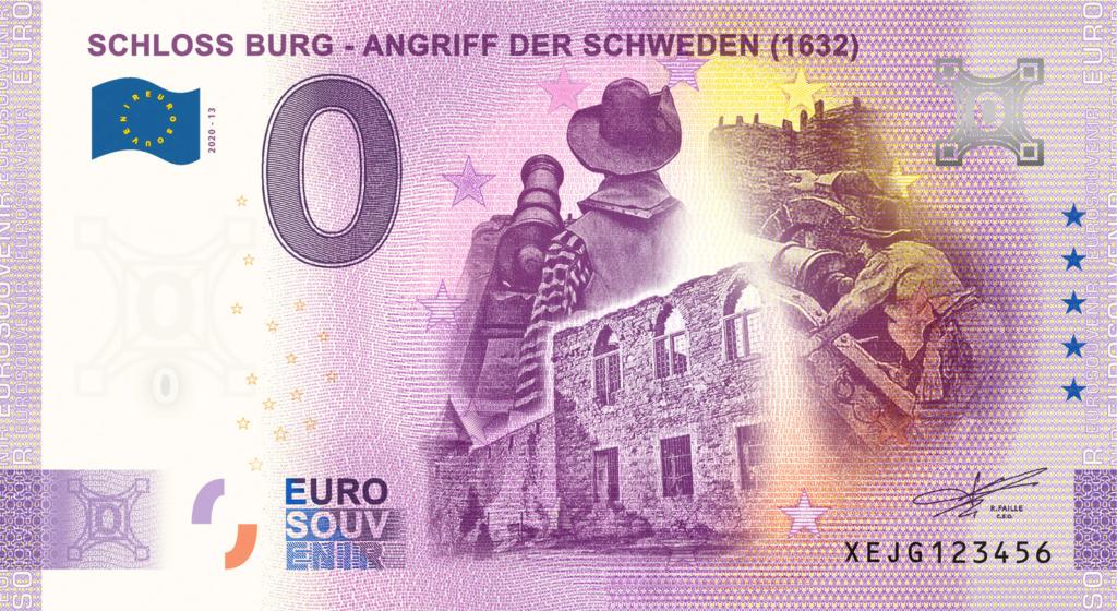 Billets souvenirs 2020 Fra_de31