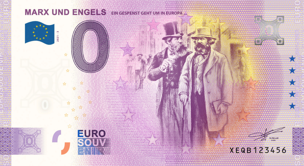Billets souvenirs 2021  Fra_de38