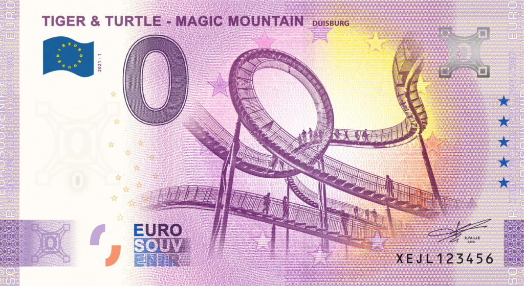 Billets souvenirs 2021  Fra_de56