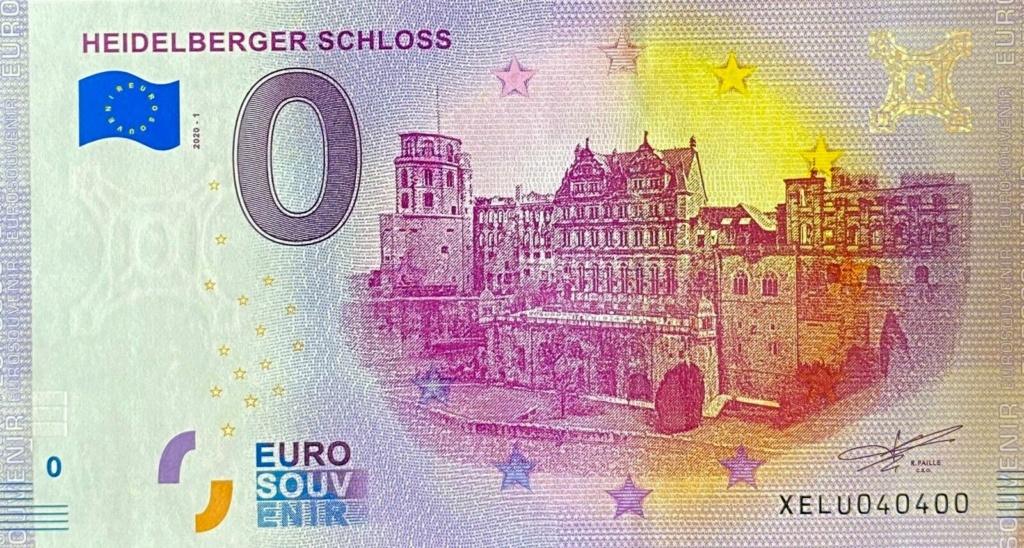 Billets souvenirs 2020 Lu202010