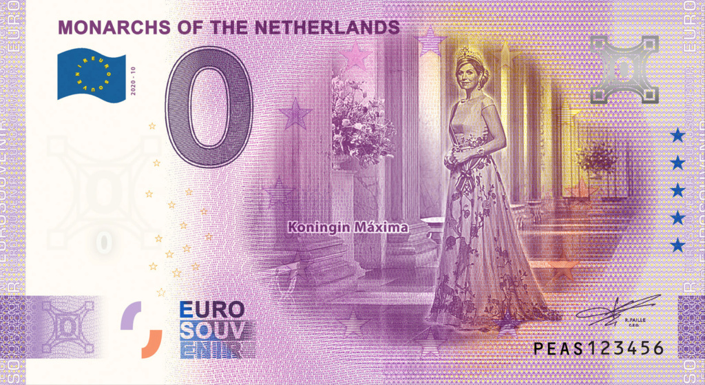 Billets 0 euro 2020 Peas1010
