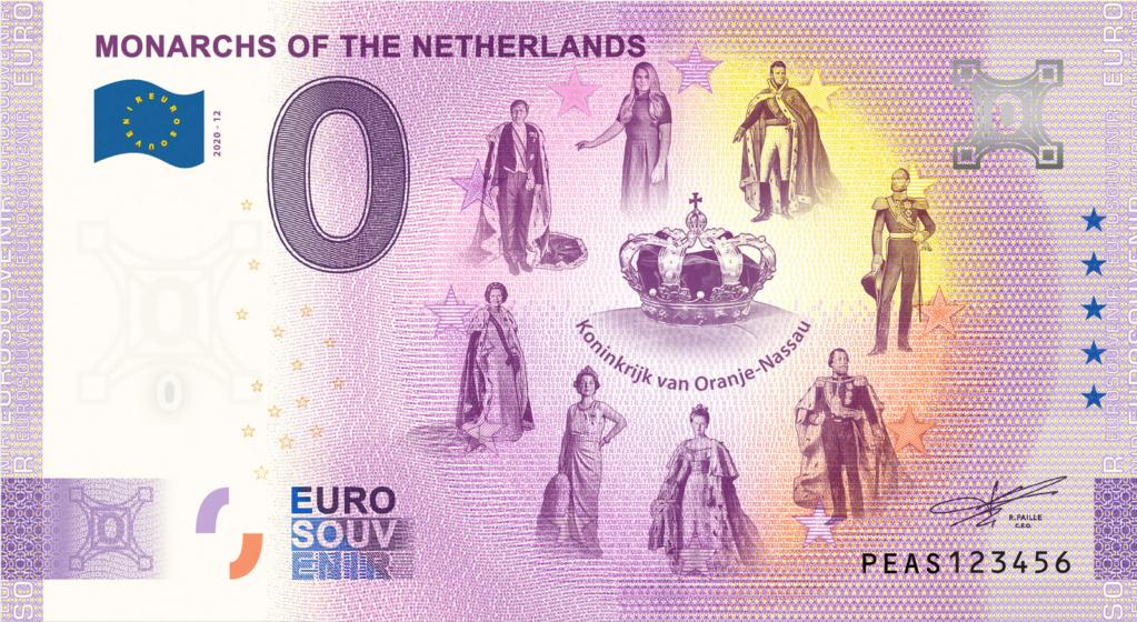 Billets 0 euro 2020 Peas1210