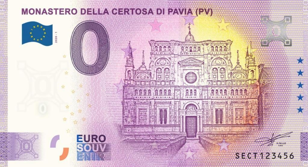 Billets Euro Souvenir 2020 Sect10