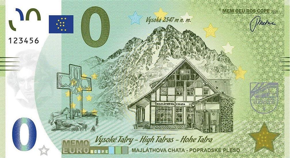 Liste codes Memo Euro scope [100 à 199] Tatry10