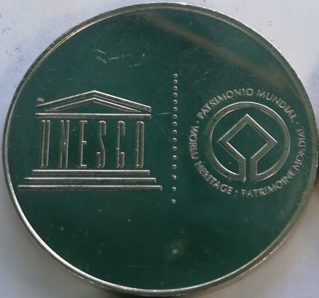 World Heritage Medals W10