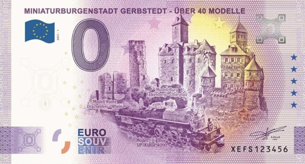 Billets souvenirs 2021  Xefs110