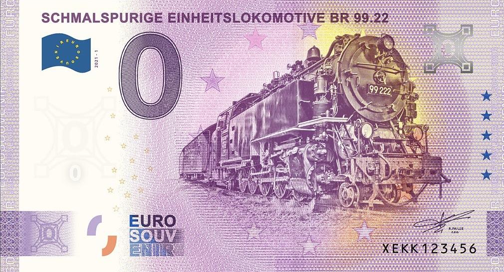 Billets souvenirs 2021  Xekk110