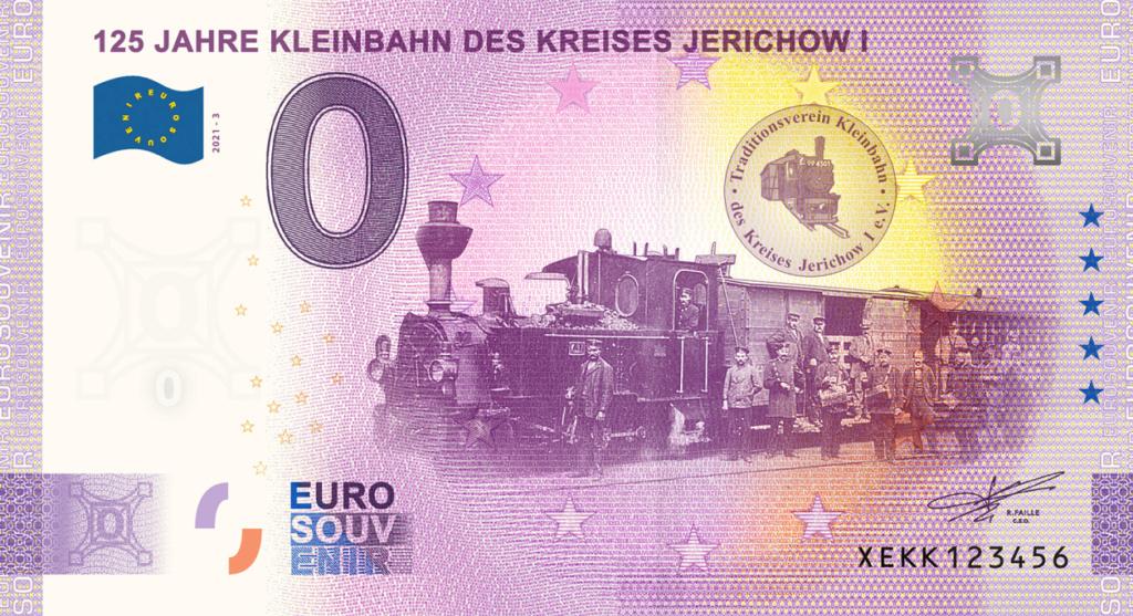 Billets souvenirs 2021  Xekk310