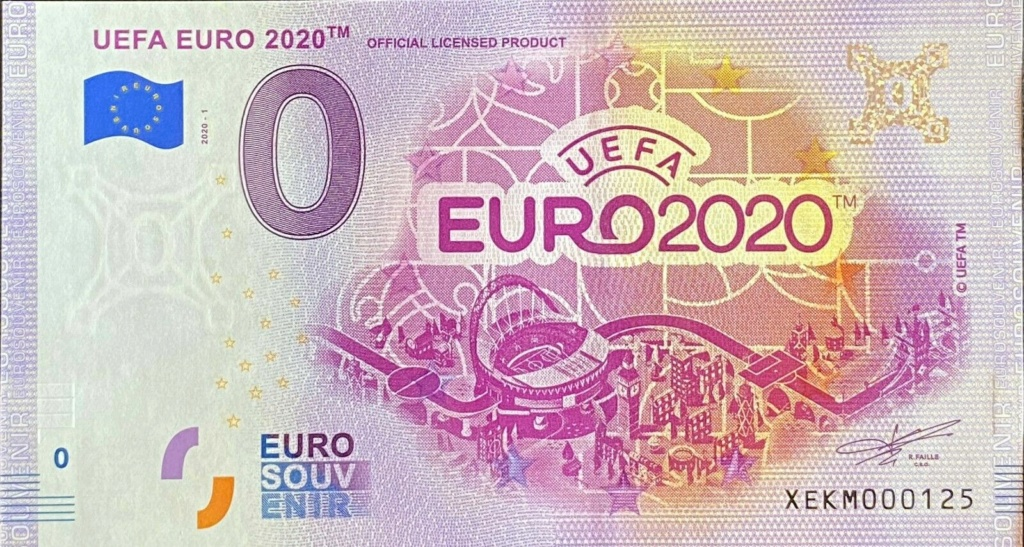 Billets souvenirs 2020 Xekm110