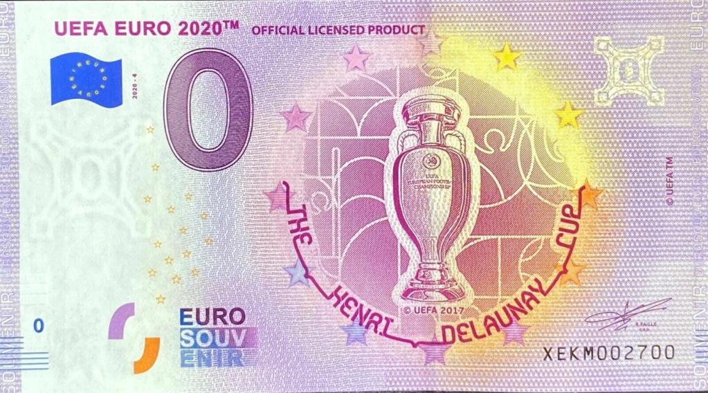 Billets souvenirs 2020 Xekm410