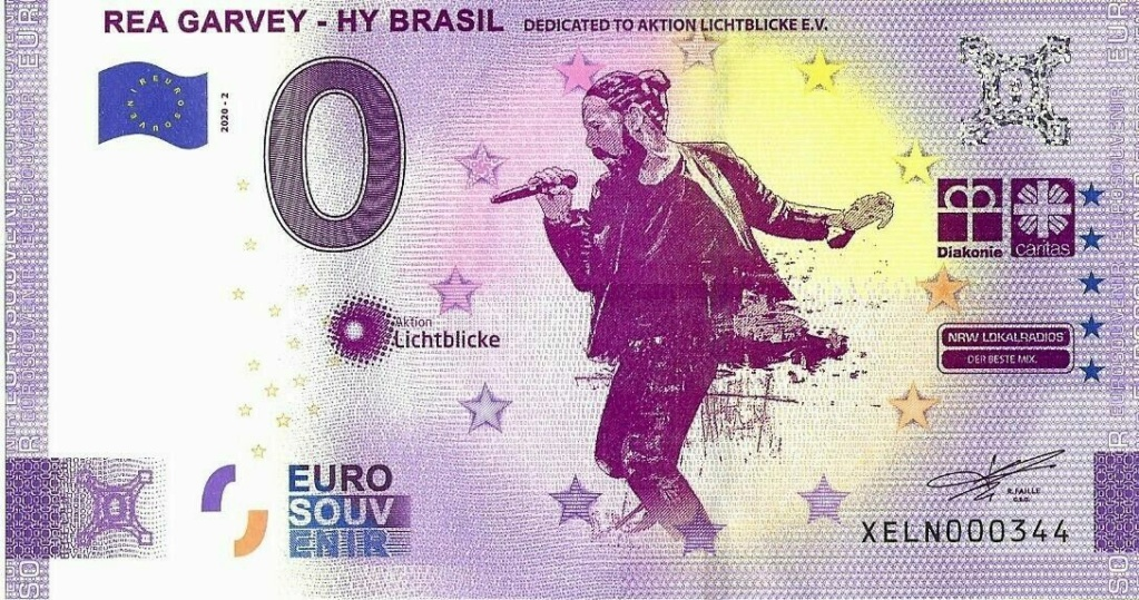 Billets souvenirs 2020 Xeln210