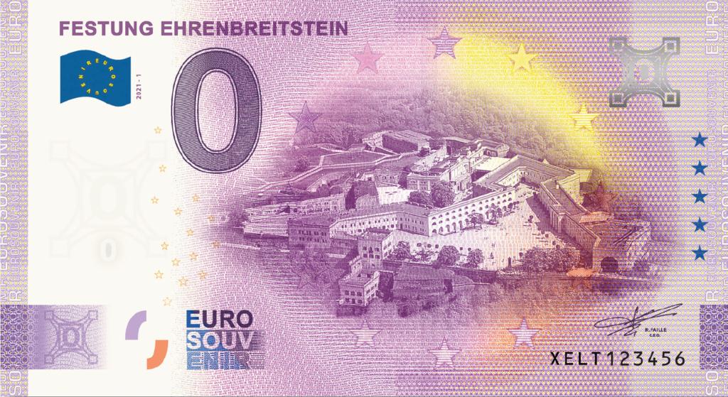 Billets souvenirs 2021  Xelt10
