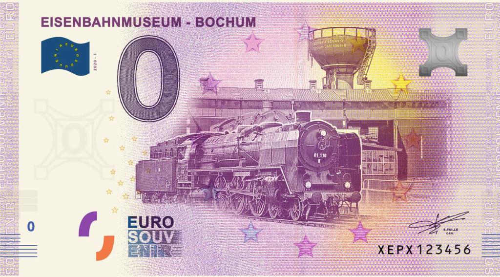 Billets souvenirs 2020 Xepx10