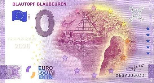 Billets souvenirs 2020 Xeqv10
