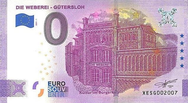 Billets souvenirs 2021  Xesg10