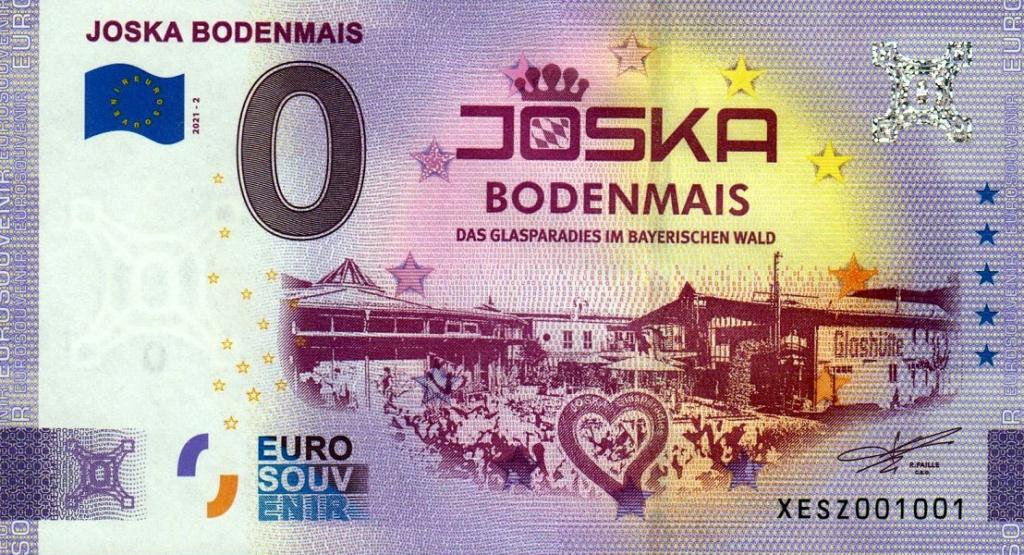 Billets souvenirs 2021  Xesz210